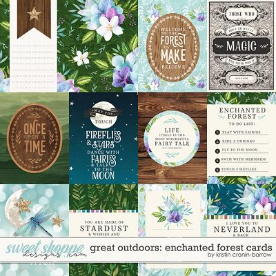 Great Outdoors: Enchanted Forest Cards by Kristin Cronin-Barrow