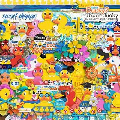 Rubber Ducky by Clever Monkey Graphics