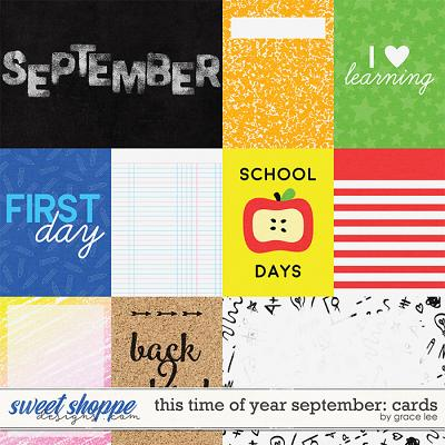 This Time of Year September: Cards by Grace Lee