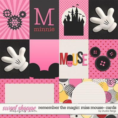Remember the Magic: MISS MOUSE- CARDS by Studio Flergs