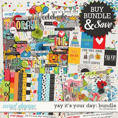 Yay It's Your Day: Bundle by Amanda Yi