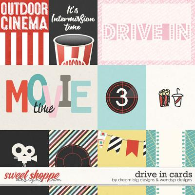 Drive In Cards by Dream Big Designs & WendyP Designs