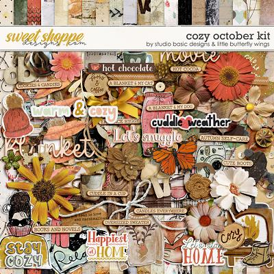 Cozy October Kit by Studio Basic and Little Butterfly Wings