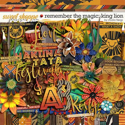 Remember the Magic: KING LION by Studio Flergs