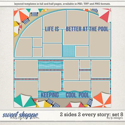 2 Sides 2 Every Story: Set 8 by LJS Designs