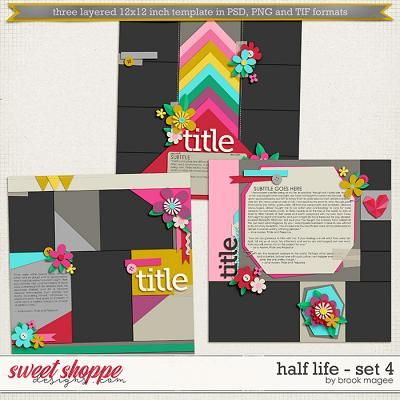 Brook's Templates - Half Life - Set 4 by Brook Magee