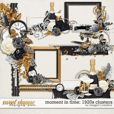 Moment in Time: 1920s Clusters by Meagan's Creations