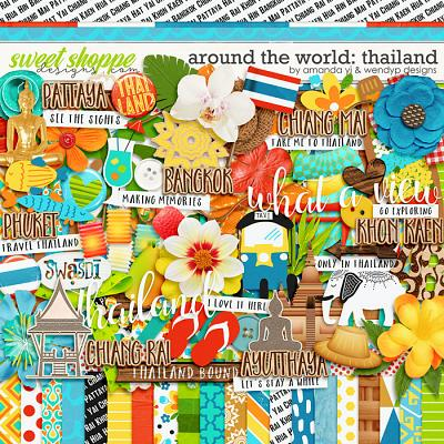 Around the world: Thailand by Amanda Yi & WendyP Designs
