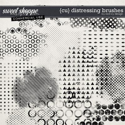CU Distressing Brushes by Red Ivy Design