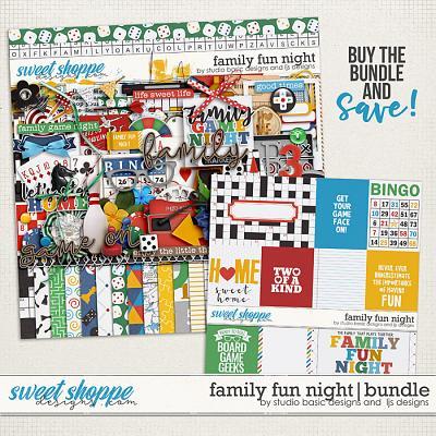 Family Fun Night Bundle by LJS Designs and Studio Basic