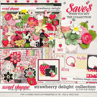 Strawberry Delight: Collection + FWP by River Rose Designs
