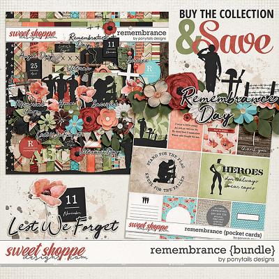 Remembrance Bundle by Ponytails