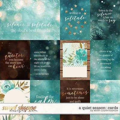 A Quiet Season - Cards by Kristin Cronin-Barrow