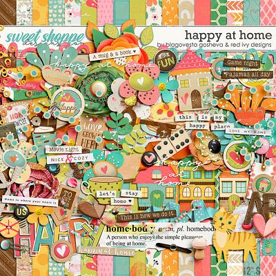 Happy at Home by Blagovesta Gosheva & Red Ivy Design