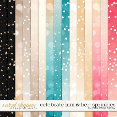 Celebrate Him and Her: Sprinkles by Kristin Cronin-Barrow