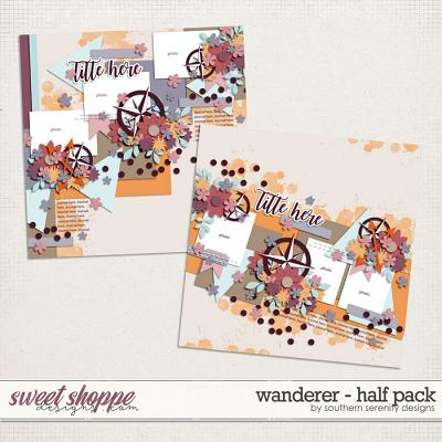 Wanderer - Half Pack Layered Templates by Southern Serenity Designs