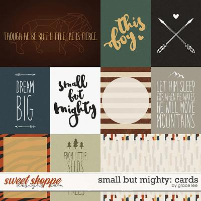 Small But Mighty: Cards by Grace Lee