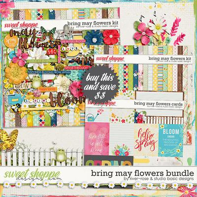 Bring May Flowers Collection by River Rose Designs & Studio Basic Designs
