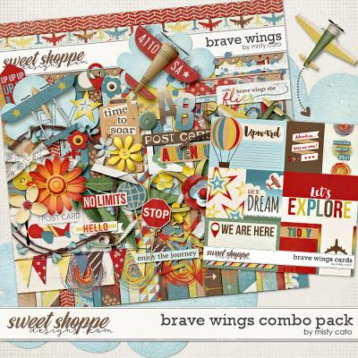 Brave Wings Combo Pack by Misty Cato