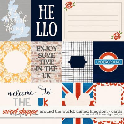 Around the world: United Kingdom - Cards by Amanda Yi & WendyP Designs
