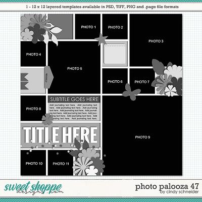 Cindy's Layered Templates - Photo Palooza 47 by Cindy Schneider