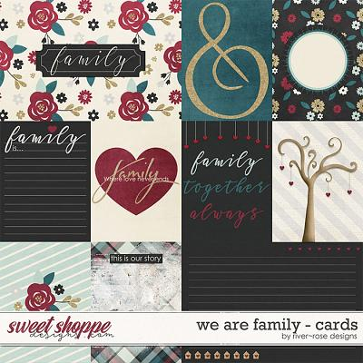 We are Family Cards by River Rose Designs