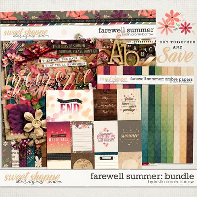 Farewell Summer: Bundle by Kristin Cronin-Barrow