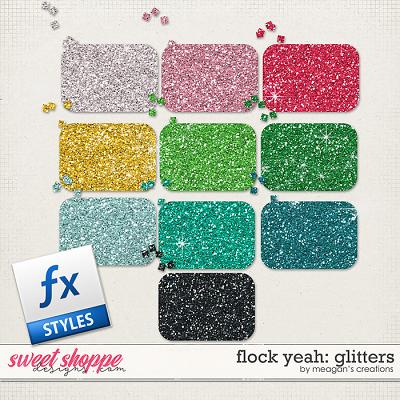 Flock Yeah: Glitters by Meagan's Creations