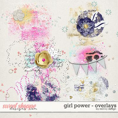 Girl Power - Overlays by Red Ivy Design