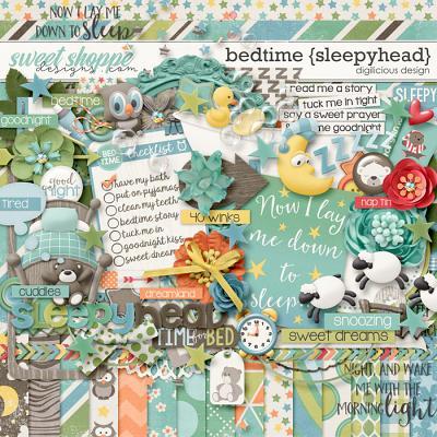Bedtime {Sleepyhead} by Digilicious Design