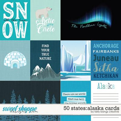 50 States: Alaska Cards by Kelly Bangs Creative