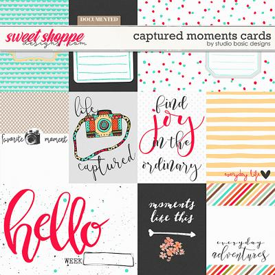 Captured Moments Cards by Studio Basic