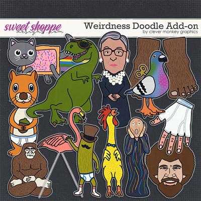 Weirdness Doodle Add-On by Clever Monkey Graphics