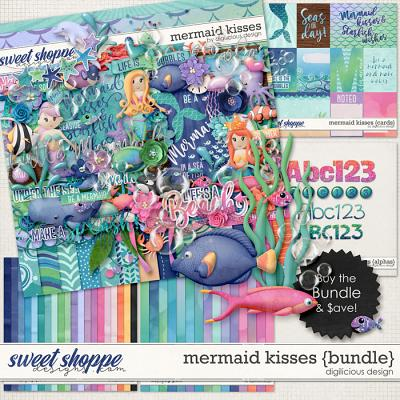 Mermaid Kisses {Bundle} by Digilicious Design