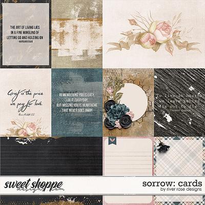 Sorrow: Cards by River Rose Designs