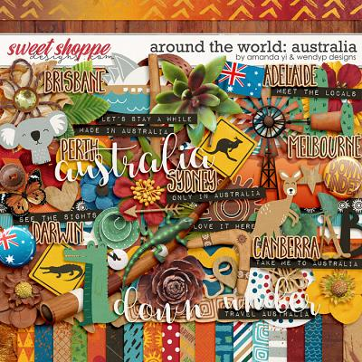 Around the world: Australia by Amanda Yi & WendyP Designs