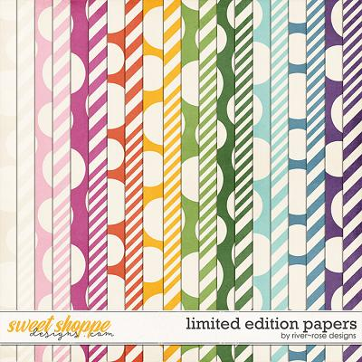 Limited Edition Papers by River Rose Designs