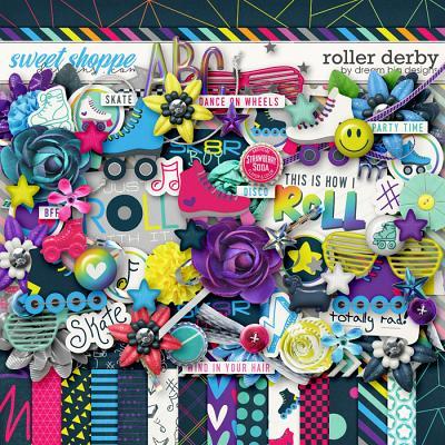Roller Derby by Dream Big Designs