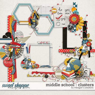 Middle School : Clusters by Meagan's Creations