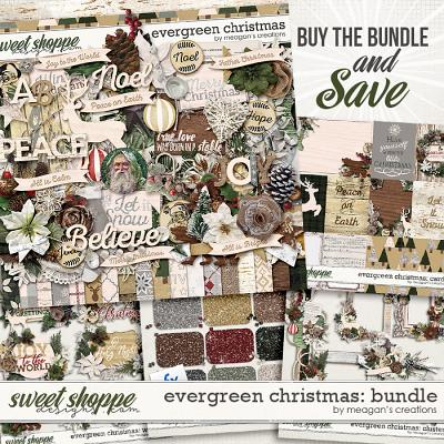 Evergreen Christmas: Collection Bundle by Meagan's Creations