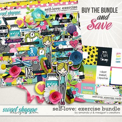 Self-Love: Exercise Bundle by Amanda Yi & Meagan's Creations