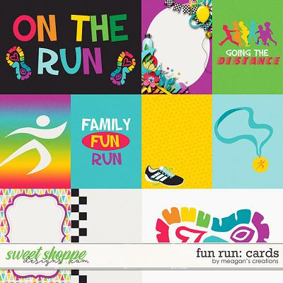Fun Run Cards by Meagan's Creations