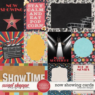 Now Showing Cards by JoCee Designs