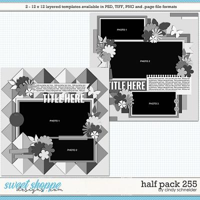 Cindy's Layered Templates - Half Pack 255 by Cindy Schneider