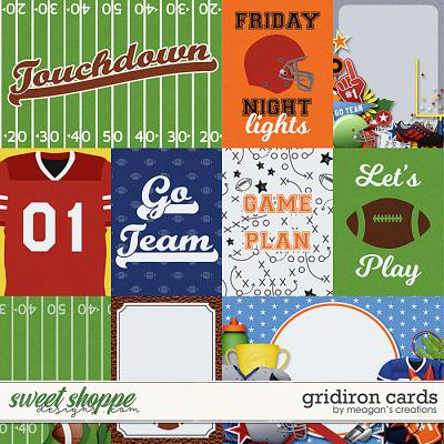 Gridiron: Cards by Meagan's Creations