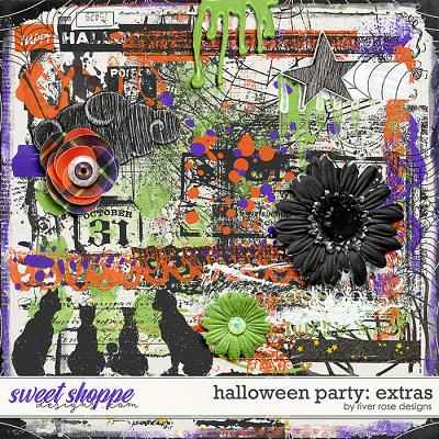 Halloween Party: Extras by River Rose Designs