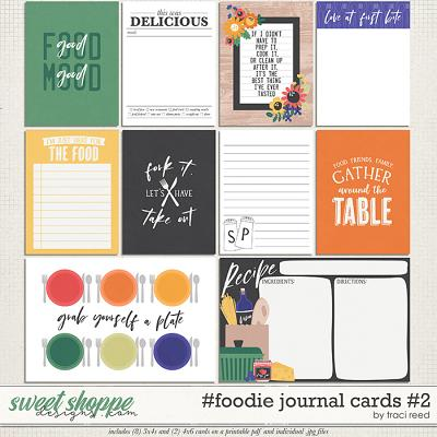 #foodie Journal Cards #2 by Traci Reed