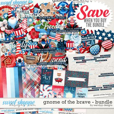 Gnome of the brave - Bundle by WendyP Designs