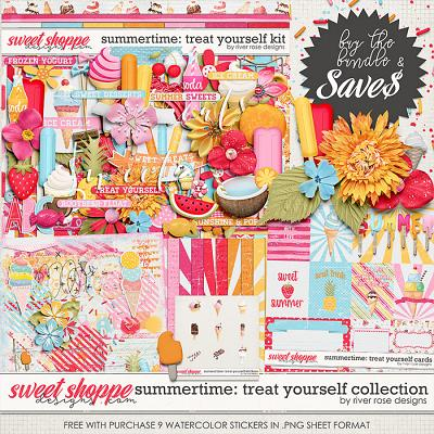 Summertime: Treat Yourself Collection + FWP by River Rose Designs
