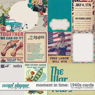 Moment in Time: 1940s Cards by Meagan's Creations